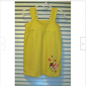 The Children's Place Yellow Top Size 4T Butterfly